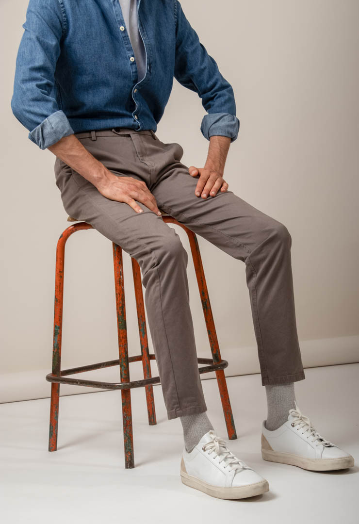 CHINO AXEL TAUPE