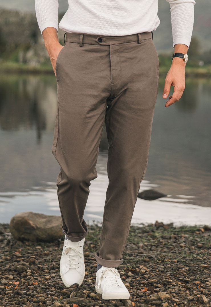 chino taupe bonnegueule
