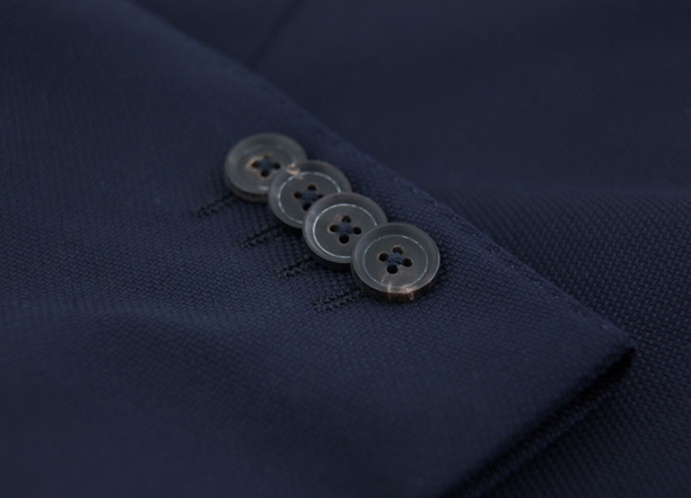 Kissing Buttons veste Loro Piana