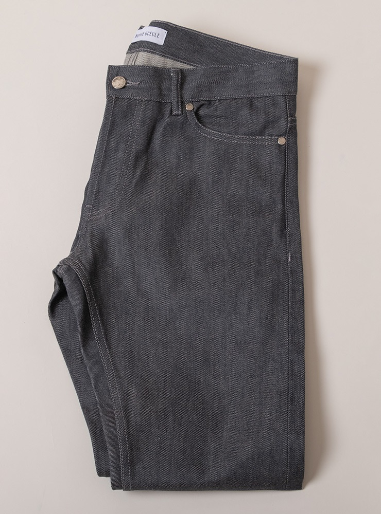 zoom jean candiani gris