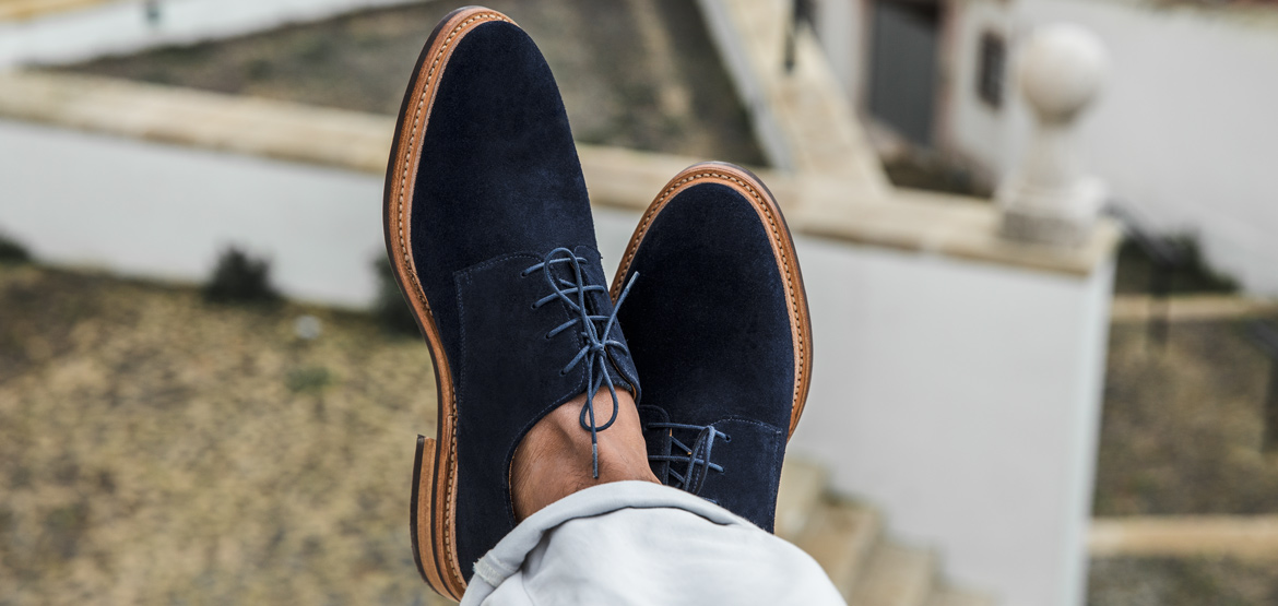 derbies veau velours bonnegueule