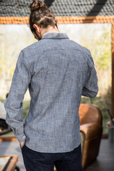 coupe chemise jap chambray