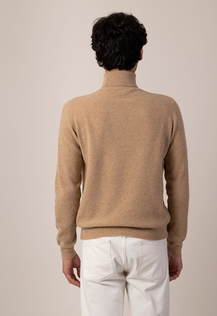 couv pull col roule camel dos