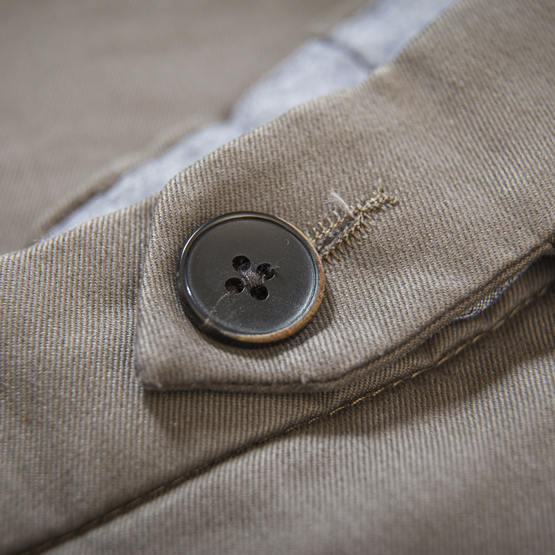 patte capucin chino taupe