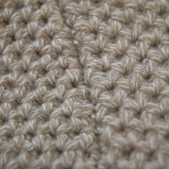 point de tricot pull zak beige