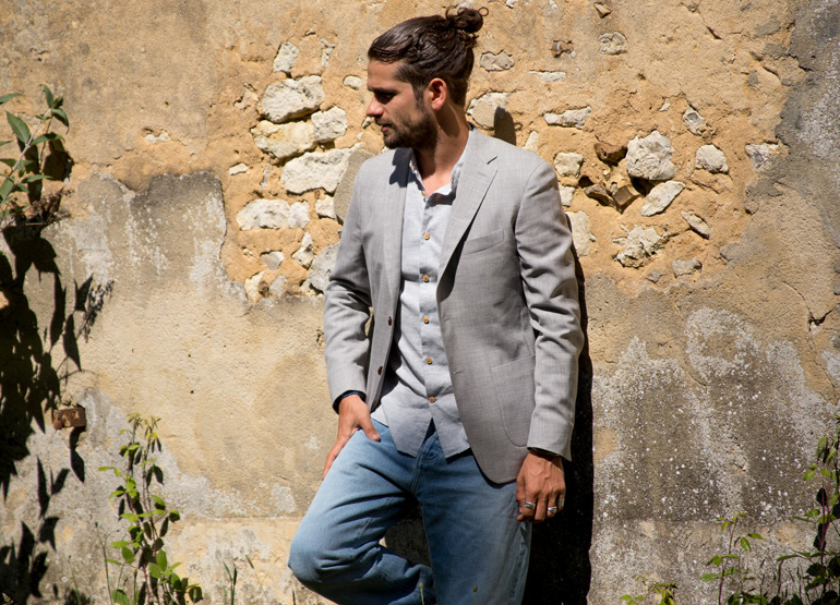 look chemise jap chambray