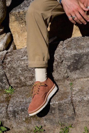derbies couleur terracotta bonnegueule
