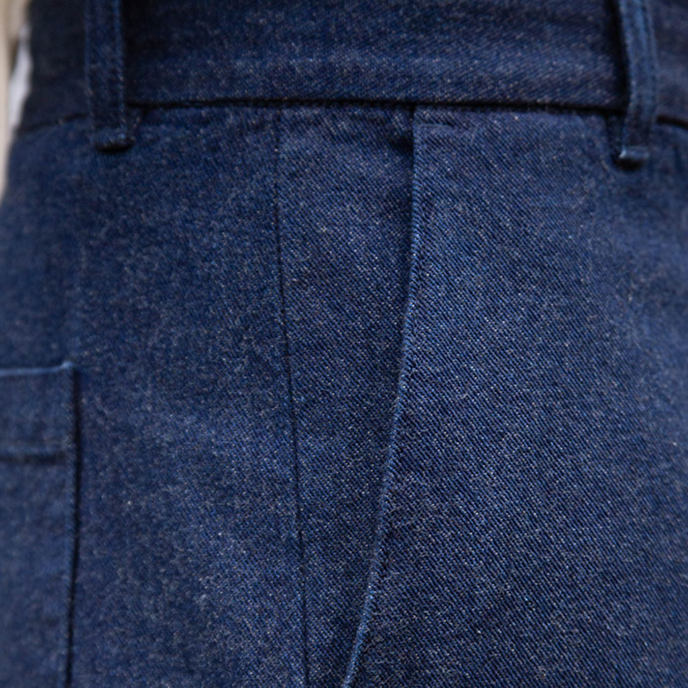 zoom left hand twill denim bonnegueule