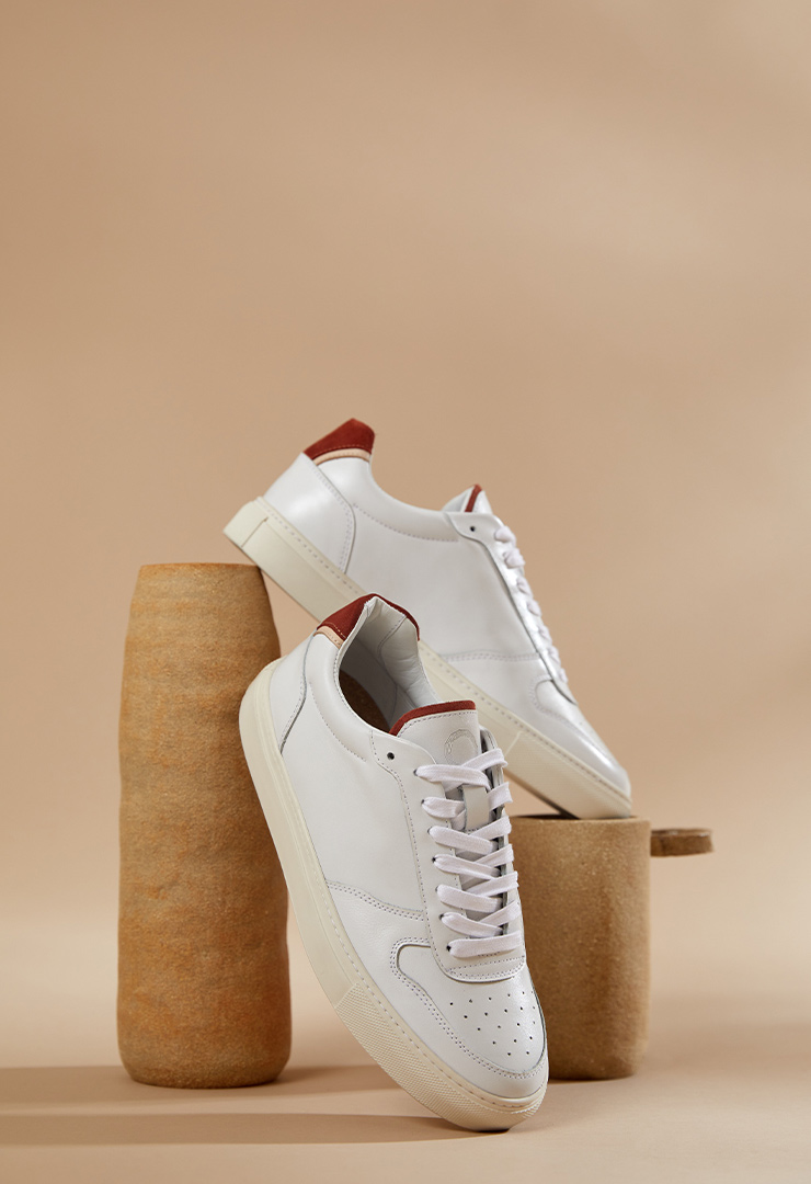 sneakers ina blanches femmes