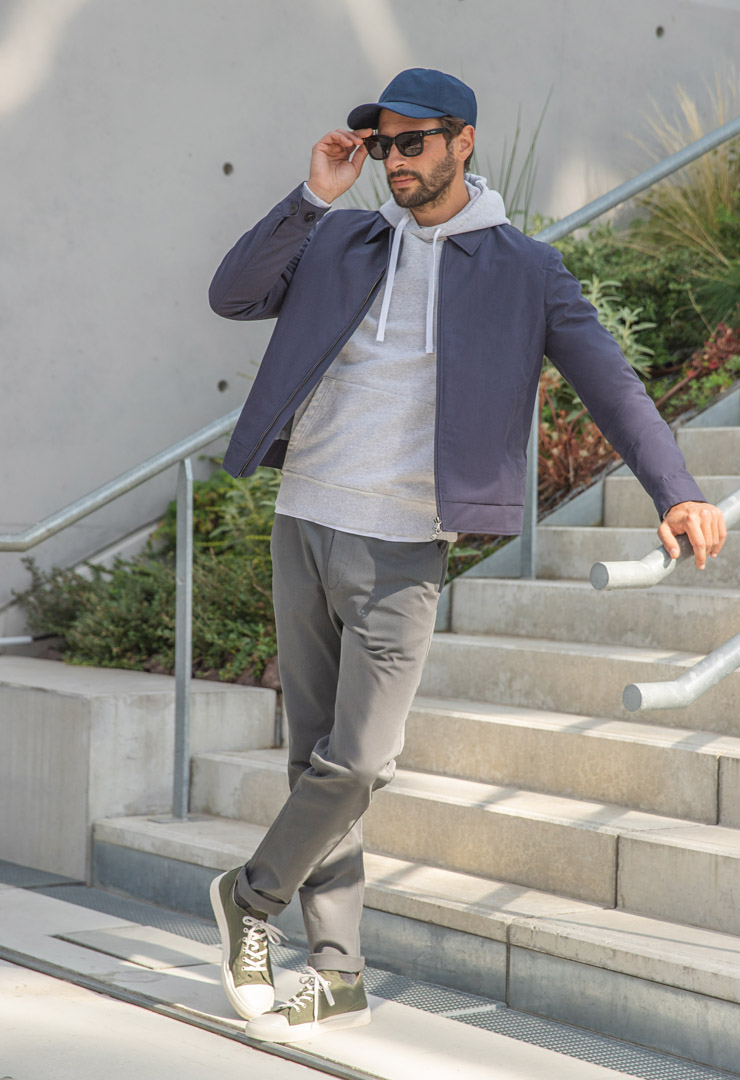 look 3 chino axel anthracite bonnegueule
